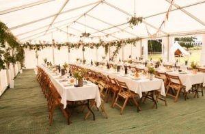 Linen Hire, Trestle Table Hire Devon, Event Hire Devon