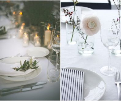 cutlery hire, crockery hire, table settings, place settings