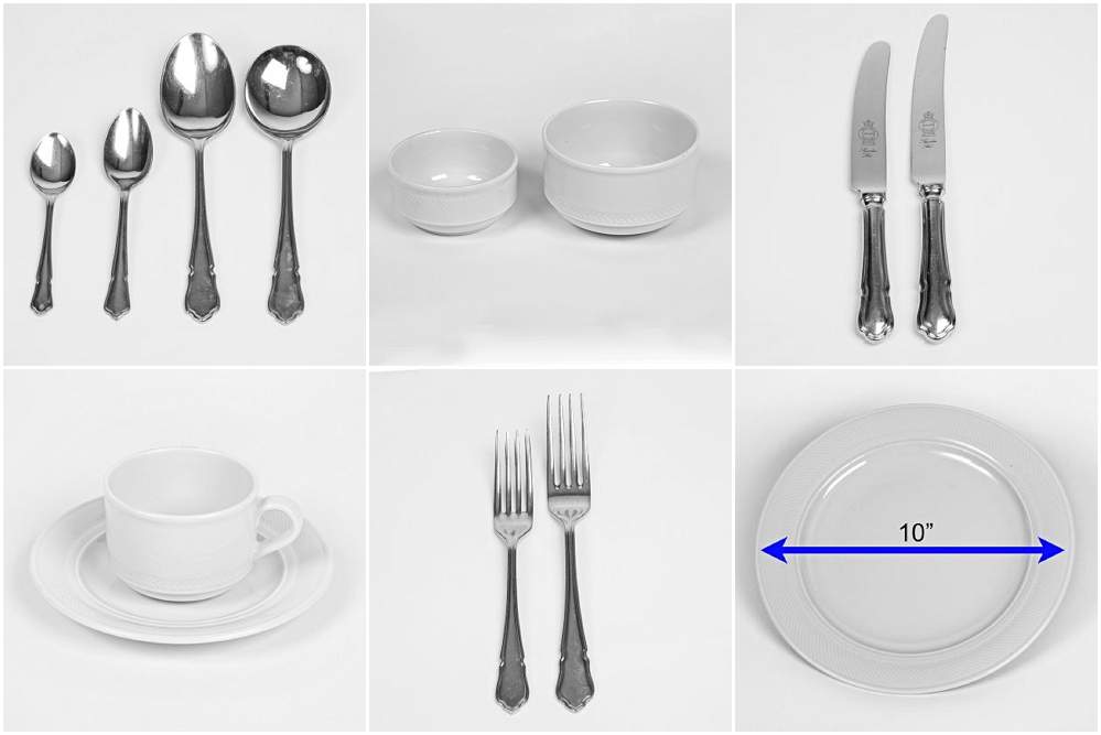 Cutlery and Crockery hire