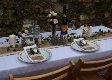 Furniture Hire, Table Linen Hire, Devon Event Hire